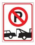 [交通标志] 禁止停车标志 禁止停车 400*600