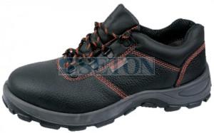代尔塔 防静电 钢包头安全鞋 黑