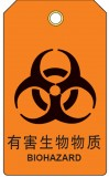 B851-化学品类指示挂牌:有害生物物质_UV打印