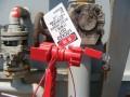 [阀门锁] 贝迪 万用阀锁大型UVLO欠压锁定组件 配金属线缆