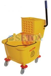 单桶榨水车