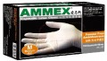 一次性白色乳胶手套 无粉 L号 100只/盒 厚度4mil