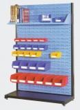 单面独立型物料整理架 3块百叶挂板