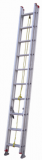 美标铝合金伸缩梯 承重 150KG 延伸长度5.20m