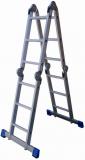 铝合金折叠梯 承重150KG 踏棍数4X3