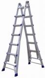 美标折叠延伸梯 承重 150KG 踏棍数24