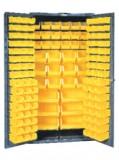 914mm宽存储柜带132物料箱(平齐门)