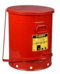 21加仑(80升)油渍废品罐