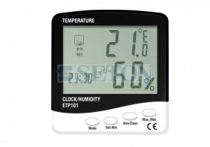 数字多功能数显温湿度计