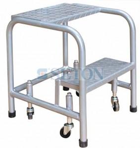 200kg 2层踏板弹簧脚轮式取货梯