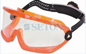 高强度防化护目镜橙色