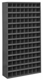 带斜坡边钢制物料箱(112个开放式间隔)