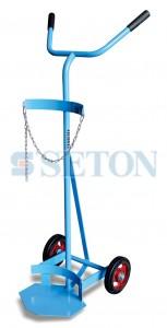 单气瓶推车(双手把型),适用气瓶直径范围:140-250mm
